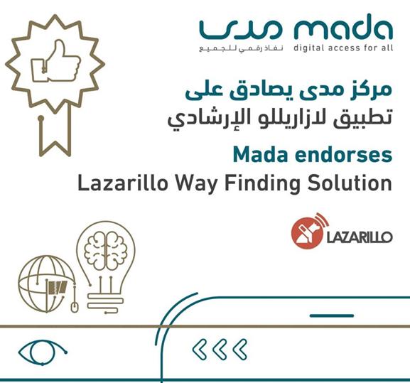 Mada Endorses Lazarillo